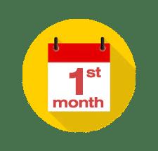 หนึ่งเดือนแรก