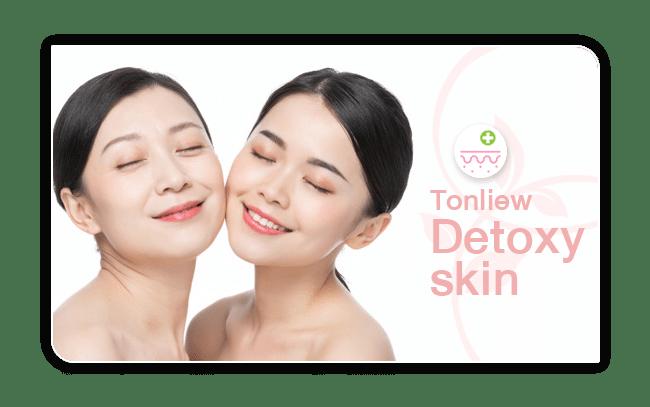 วิตามินดีท็อกซ์ผิว (Tonliew Detoxy Skin)